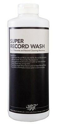 Mobile Fidelity Super Record Wash Record Cleaning Fluid (approx 950ml) NEW/SEALE