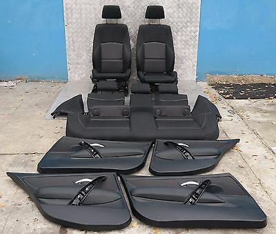 BMW 1 SERIES E87 LCI Sport Cloth Interior Seats with Airbag and 4 Door Cards
