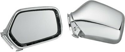 Show Chrome Mirrors Chrome for Honda GL1500 Gold Wing 88-00 2-445* 41-8675