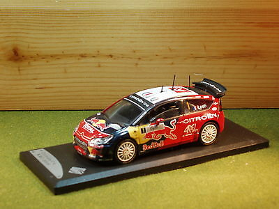 Citroen C4 Rally S.Loeb 2008 WRC 1/43rd Scale