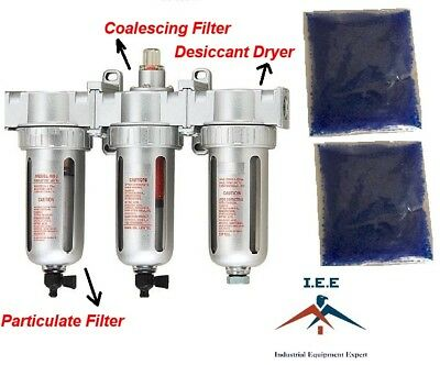 "1/2"" Compressed Air Inline Particulate Filter / Desiccant Dryer / Coalescing"