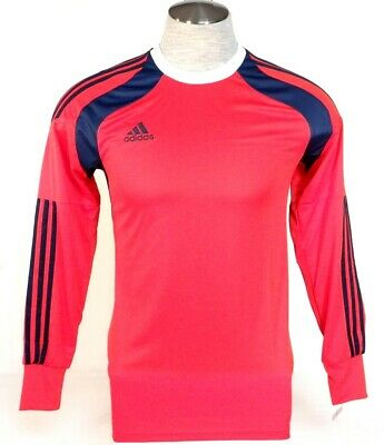 0b35e26df4f Adidas AdiZero Onore 14 GK Red & Blue Long Sleeve GoalKeeper Jersey Mens NWT