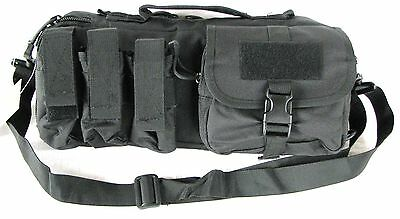 "15"" Padded Hand Gun / Pistol / Range Bag Duffle Bag Ammo Pack Black Color"