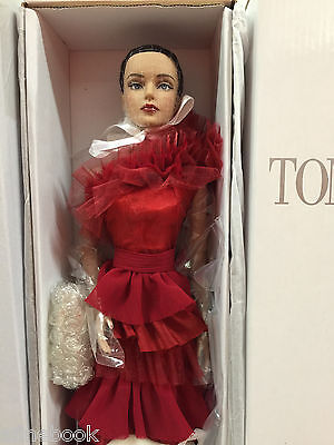 Tonner Sydney Chase 'All Drama Sydney' red ruffle gown NRFB NEW