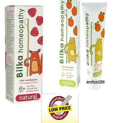 BILKA TOOTHPASTE NATURAL HERBS 50 ml FOR CHILDREN 6+ and 2 +  FREE DELIVERY