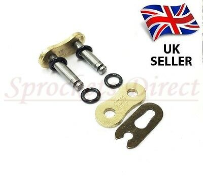 Gold 525 O Ring Motorcycle Bike Dirt Bike Atv Quad Drive Chain Split Link