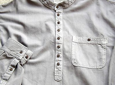 Grandad Shirt in Soft Denim 100% Cotton by Kaboo Trading Co Pure Quality always