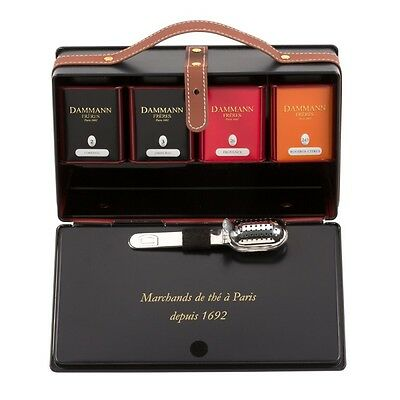 "coffret thé boites ""Blues"""