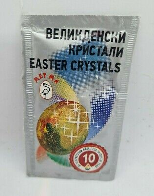 Crystals Glitter for Easter Decorated Eggs Dye Paint Color Dyeing