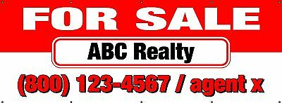 """For Rent Banner 36/""""x96/"""" Free Shipping /& Customization Ready to Hang!"""