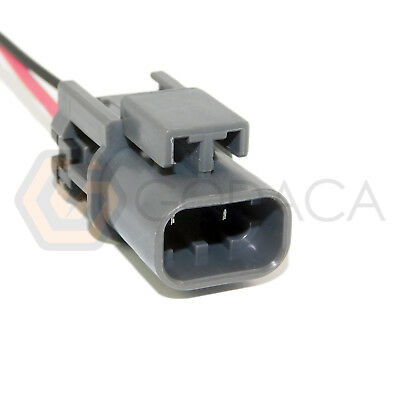 1x Connector 2-way for Nissan Idle Air Control 23731-0W000