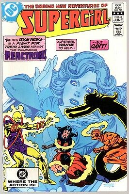 SUPERGIRL #8 VF 8.0 1st appearance Reactron TV series HOT