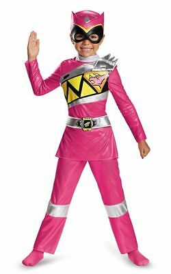 Pink Power Ranger Deluxe Dino Charge Child Power Rangers Book Week Costume