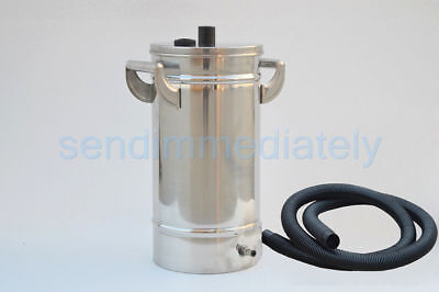 Small Stainless steel 304# Fluidized powder hopper for powde coating machine