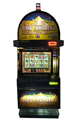 Igt Pink Panther's Video Machine With Brand New Lcd Screen, Free Shipping