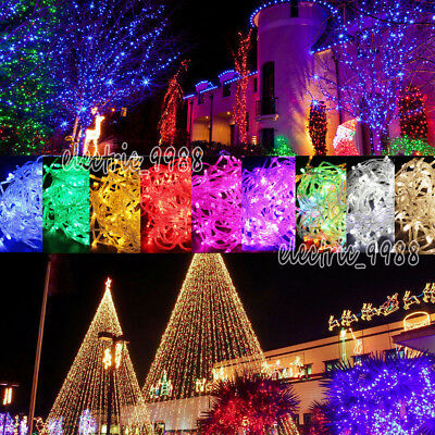 Warm White Christmas Wedding Xmas Party Decor Outdoor Fairy String Light Lamp