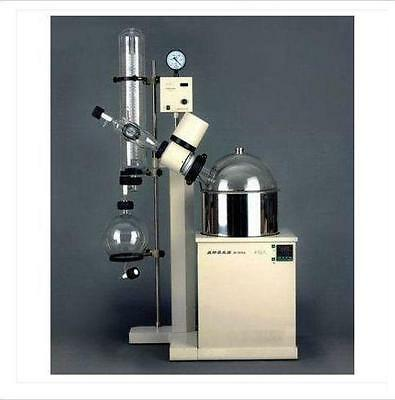 Rotary Evaporator 10L rotate & temp digital dispaly vertical condenser RE-5210A