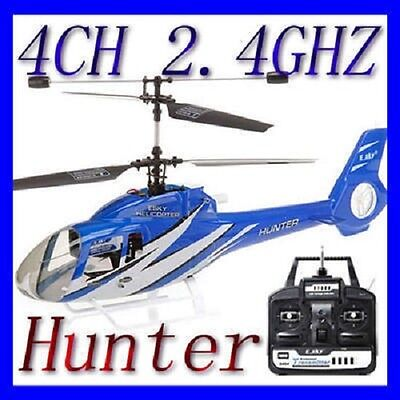 ESKY RC 2.4GHZ 4CH HUNTER HELICOPTER Coaxial RTF Radio Remote Control Red 053