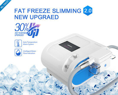 Cooling Vacuum Fat Freezing CryoTherapy Slimming Cellulite Reduction Machine SPA