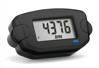 Trail Tech TTO Tach (RPM), Hour meter with Clock universal Rev Counter 742-A00