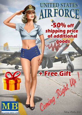 United States  Air Force Coming Right Up!  Kit 5 Patty 1/24 Master Box 24005