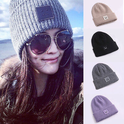 Women Men's Beanie Knit Ski Cap Hip-Hop Fashion Winter Warm Unisex Cotton Hat