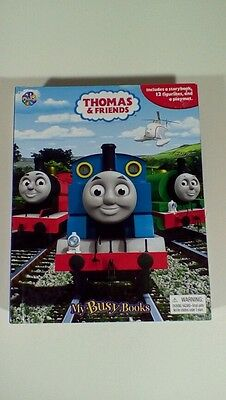 Thomas the Tank Engine My Busy Book Playmat 10 Trains 1 Helicopter
