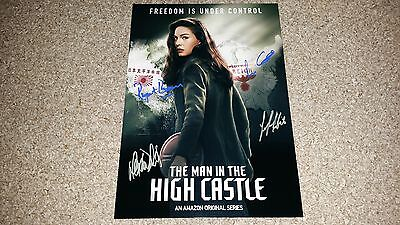 "The Man In The High Castle Pp Signed 12""x8"" A4 Photo Poster Alexa Davalos"