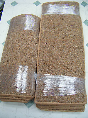 12x STAIR PADS & MAT,80% WOOL TWIST *CONTRACT QUALITY*  #1417