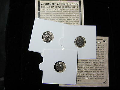5 - PREMIUM GRADE Christ Ancient Roman Bible Coins of the Magi mini-album - COA