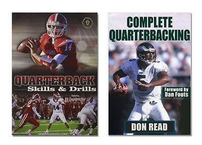 Quarterback Book and DVD - Gift for Football Players or Coaches - Free Shipping