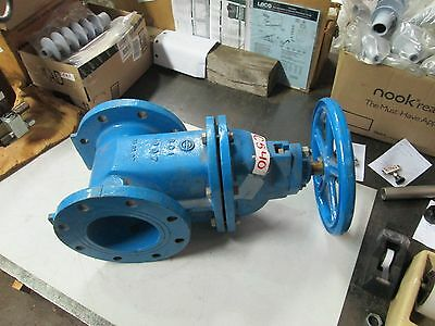 """Watts 6"""" NRS Gate Valve 125# Flange Code: 1065220 Iron Body Resilient Wedge(New)"""
