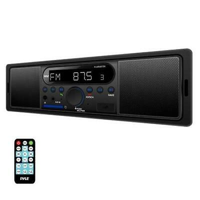 New Auto Bluetooth In-Dash Stereo Radio Headunit Receiver, MP3/USB/SD, Black