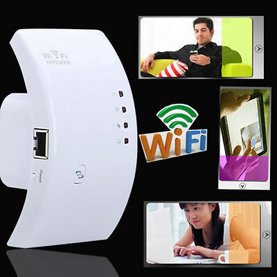 300Mbps Wireless N 802.11 AP Wifi Range Router Repeater Extender Booster IDG