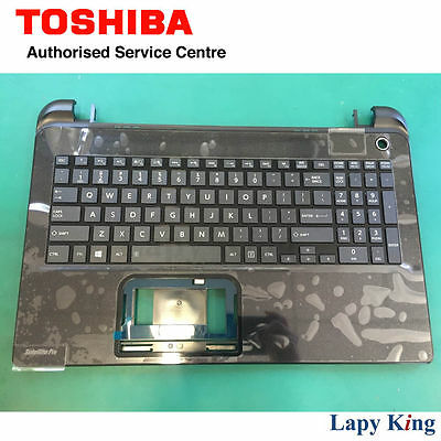 Brand New Toshiba Satellite Pro L50 Black Keyboard w/ Top Cover A000300710