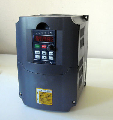 New HY Series Variable Frequency Drive VFD Inverter 3KW 220V 4HP SVPWM RS485