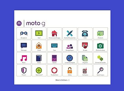 Motorola Moto G (3rd Generation) Smartphone User Guide