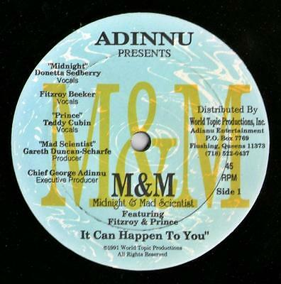 "M & M  - Midnight & Mad Scientist - It Can happen To You  - 12"" WTP001"