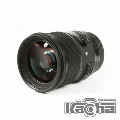 NEW Sigma Art Series 50mm f/1.4 DG HSM Lens for Nikon F