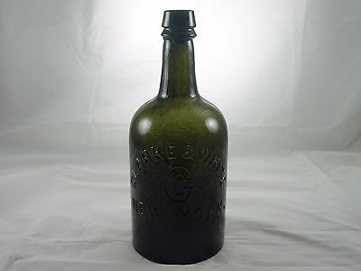 Quart Clarke & White C New York Crude Olive Green Example