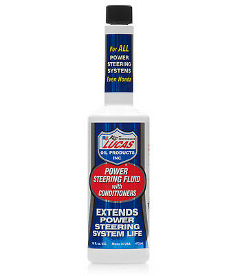 Lucas Oil Power Steering Fluid With Conditioners 473ml