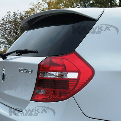 BMW 1 Series E81 E87 AERO Look Rear Roof Spoiler ~PRIMED & PREPARED~