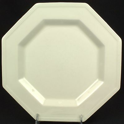 Johnson Brothers Heritage White Dinner Plate England Backstamp C UTENSIL MARKS