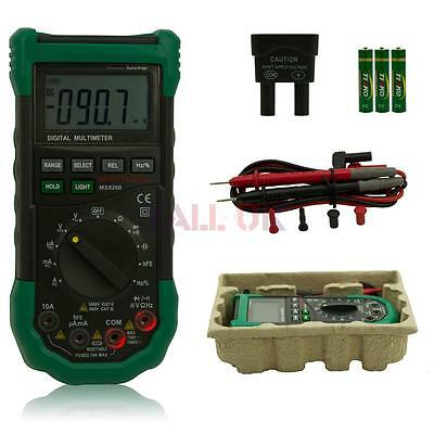 MASTECH MS8268 Digital Auto/ Manual AC DC Voltage Multimeter Capacitance Test