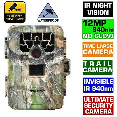 Camo SG-880V 940nm Low Glow Infrared Digital Trail Hunting  Waterproof Camera 2""