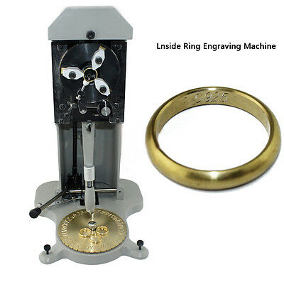 Professional Jewelry Machinery Inside Ring Engraving Machine Jewelry Making Tool