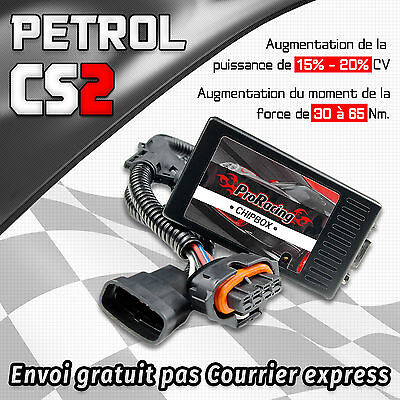 Boitier Additionnel puce PEUGEOT 306 1.6i 1.8i 2.0 Chip Tuning Box CS2