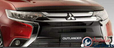 Tinted Bonnet & Clear Headlamp Protector Combo Mitsubishi Outlander ZK 2015- Gen