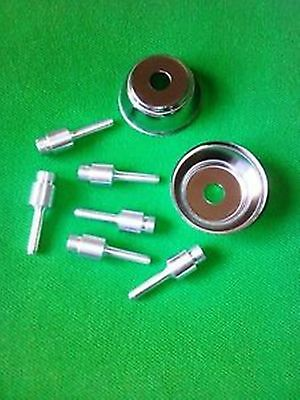 6 Replacement Golf Grip Airtool Air Gun Nozzles. 2 Free Debris Shields - Wow