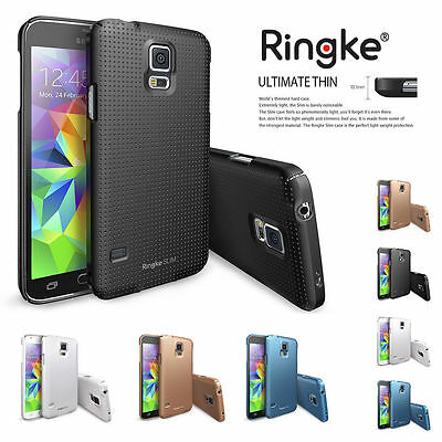 Ringke Dual Coating Ultra Slim Hard Back Thin Cover For Samsung Galaxy S5 Case